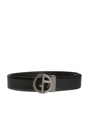 Belt with decorative buckle od Giorgio Armani